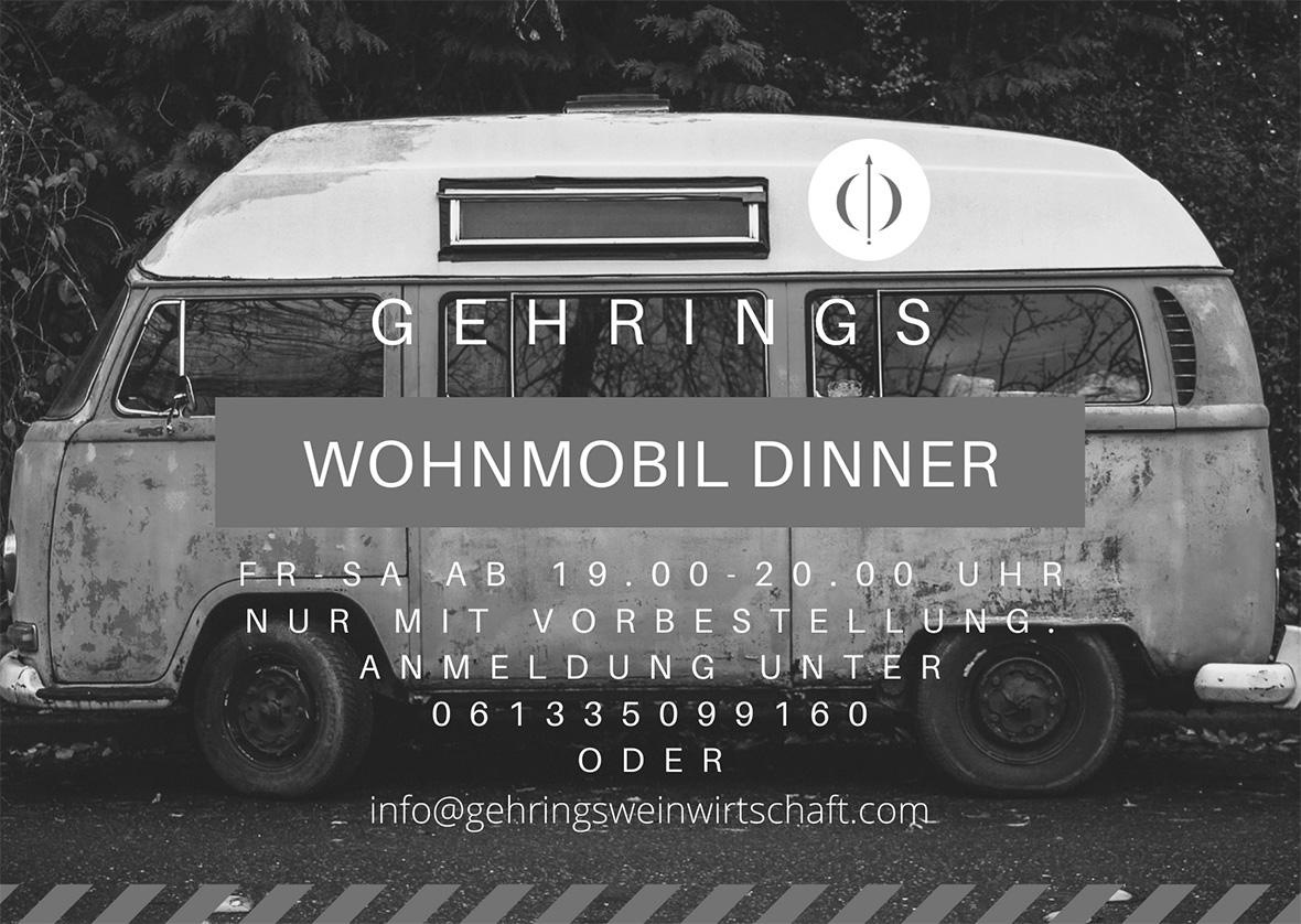 Wohnmobil Dinner